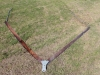 trailing-v-blade